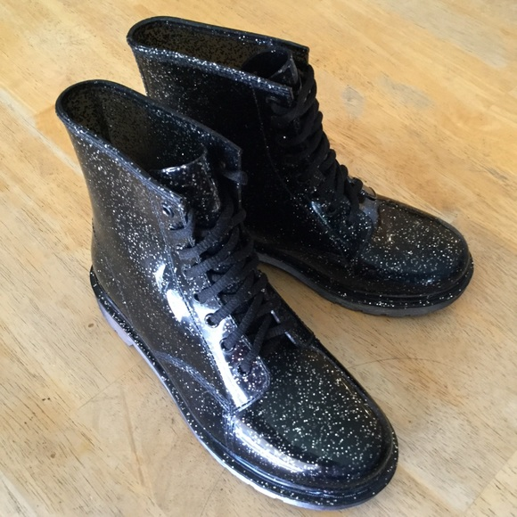 a626bfd5b Circus by Sam Edelman Shoes - Quinn Combat Style Rain Boots Circus Sam  Edelman